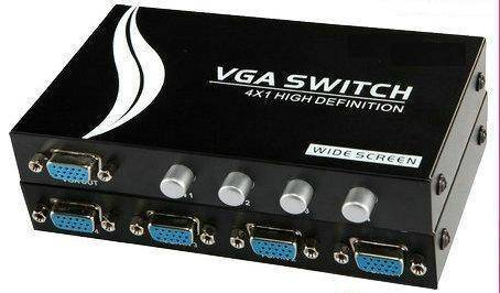 4input,1output VGA Switcher