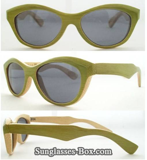 OEM/wholesale hand made bamboo sunglasses