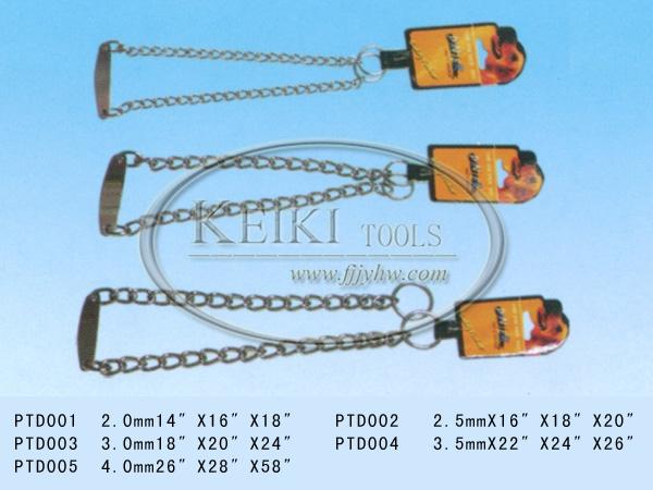 dog chain/hardware chain/electro galvanized double loop chain