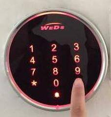 WEDS Touch Access Control Card Reader