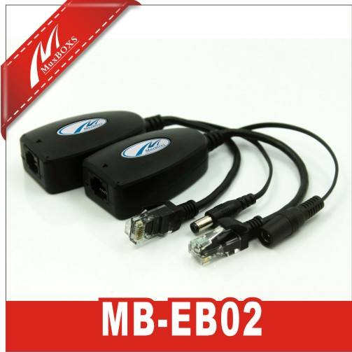 1-CH Passive Ethernet & Power Converter Balun