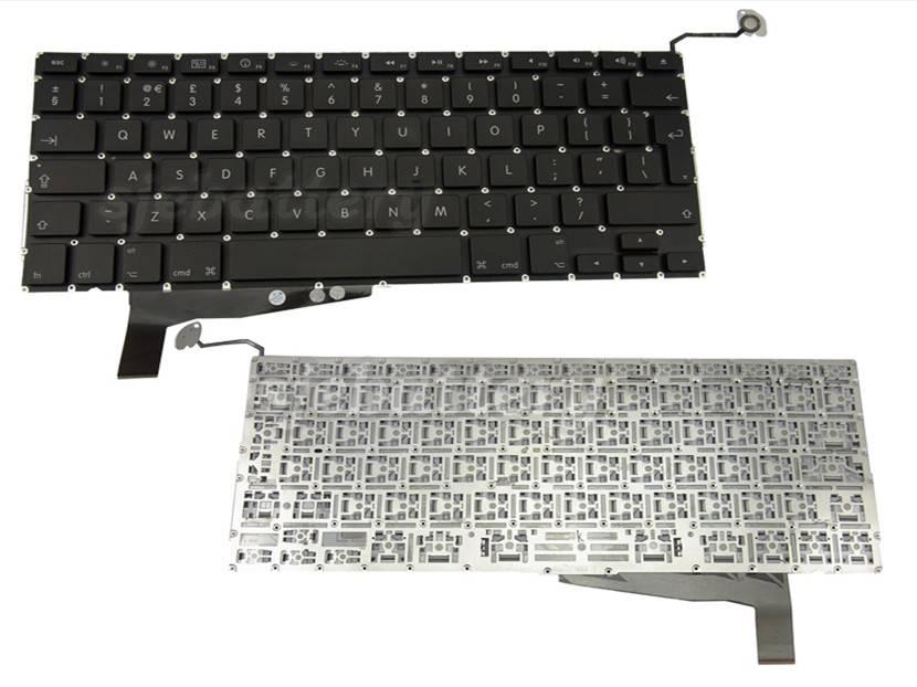APPLE MacBook Pro 15 15.4 Unibody MB470LLA 2009 2010 2011 UK KEYBOARD Black