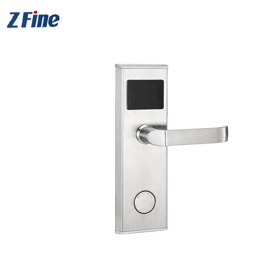 New fashion smart rfid hotel door lock with chip card door locks