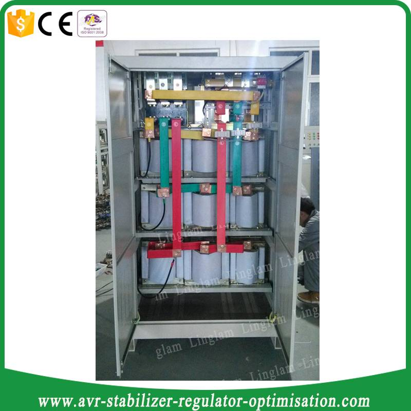 600kva three phase ac voltage regulator