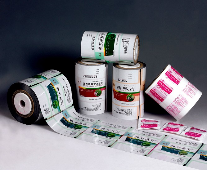 customized automatic package folded film for medicine use