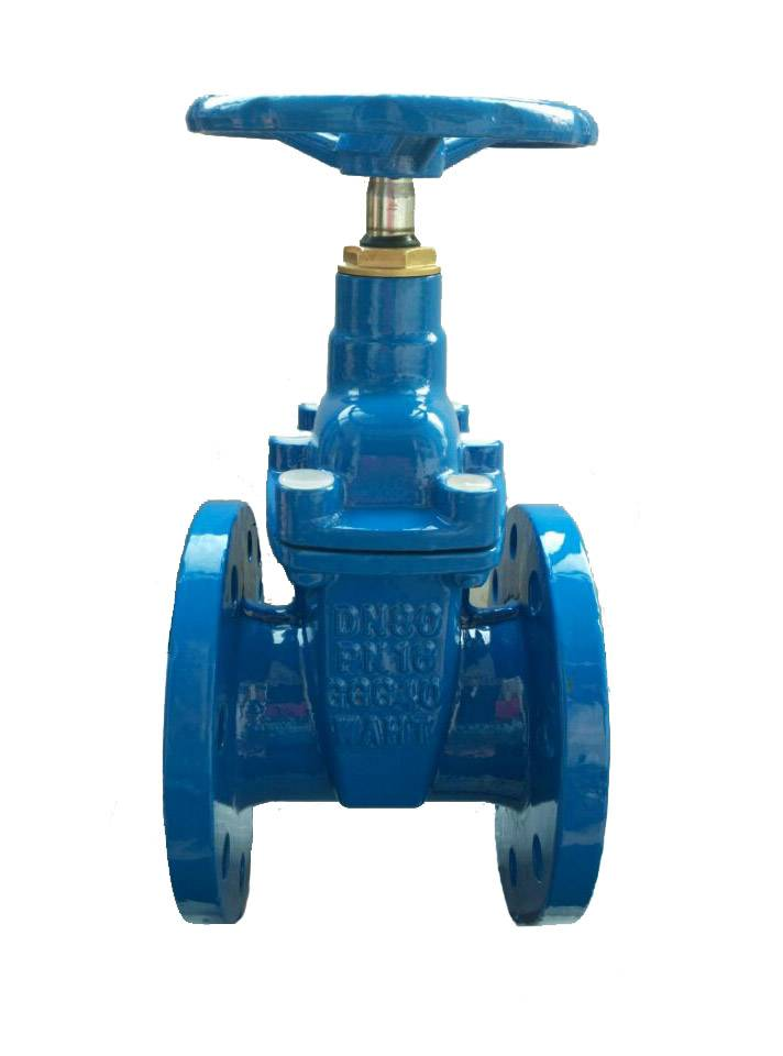 DIN3352 F4 Non-Rising Stem Resilient Seated Gate Valve