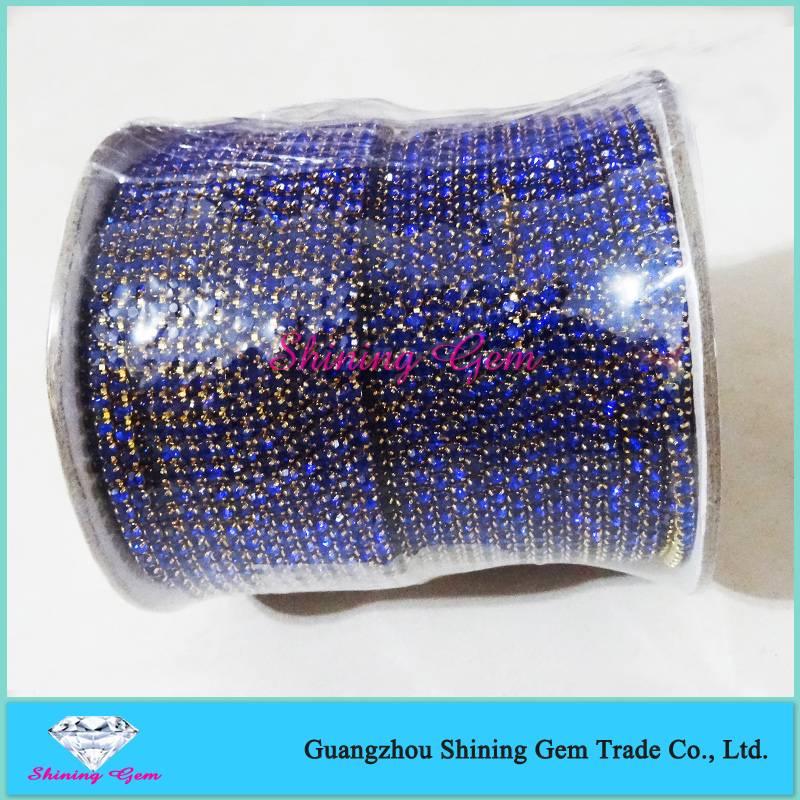 SS12 Sewing Craft Gold Rhinestone Trim