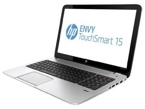 "HP ENVY TouchSmart  Quad Edition Notebook PC (Silver); Intel Core i7-4700MQ, 15.6"" Full HD Touch Scr"