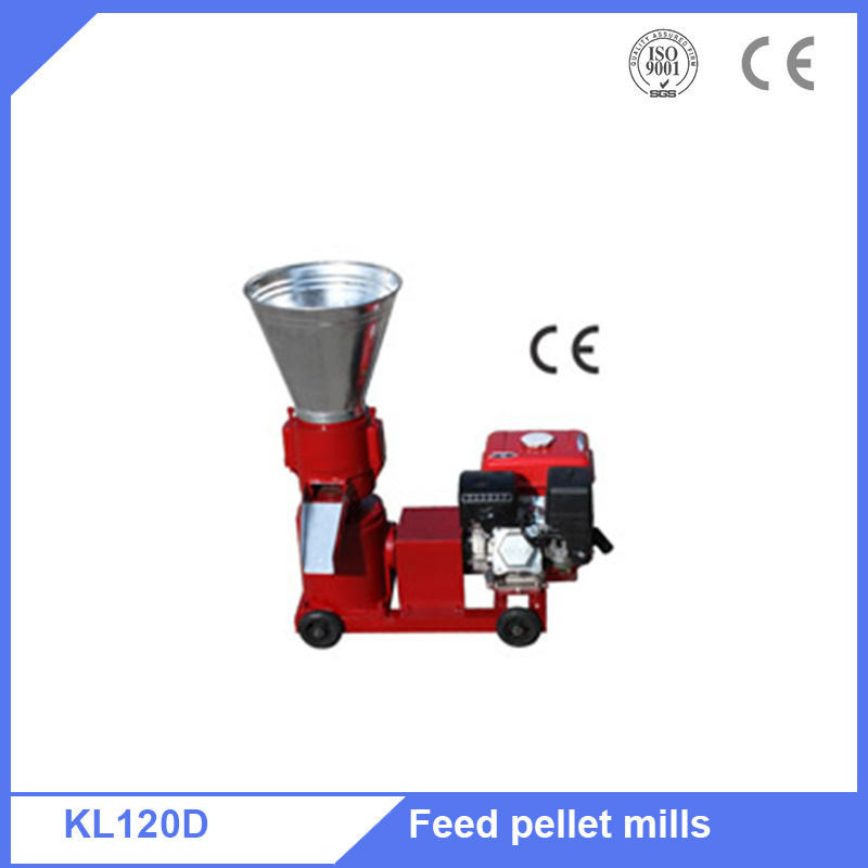 Animal cattle fish feed pellet granualtor machine with single phase motor