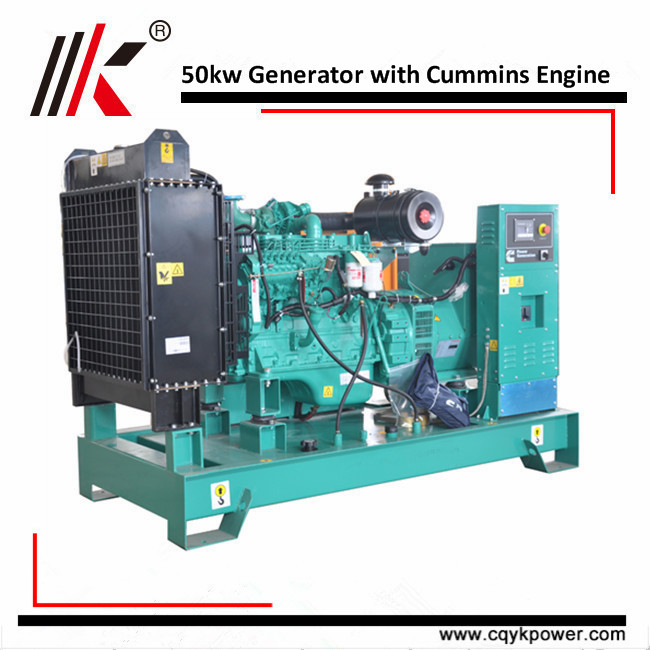 50kw small water cooled diesel generator Chinese manufacturer