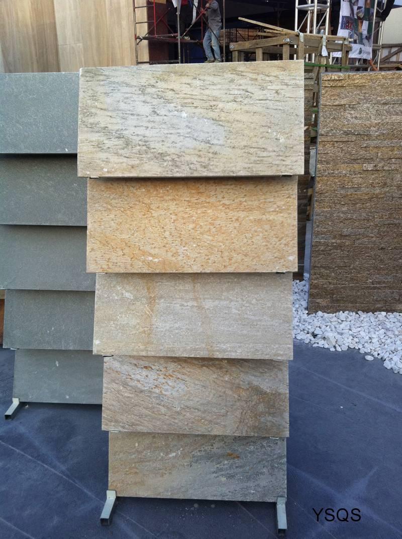 Yellow Slate Stone Tiles