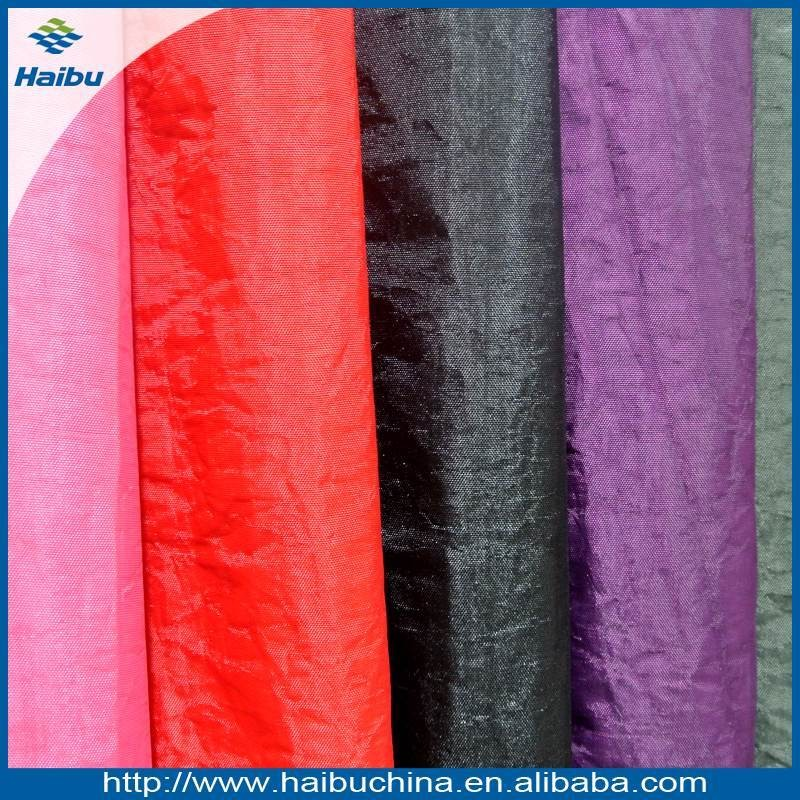 Hot Sale for the Wrinkle Free Polyester Fabric China Manufacturer Bag & Umbrella Fabric