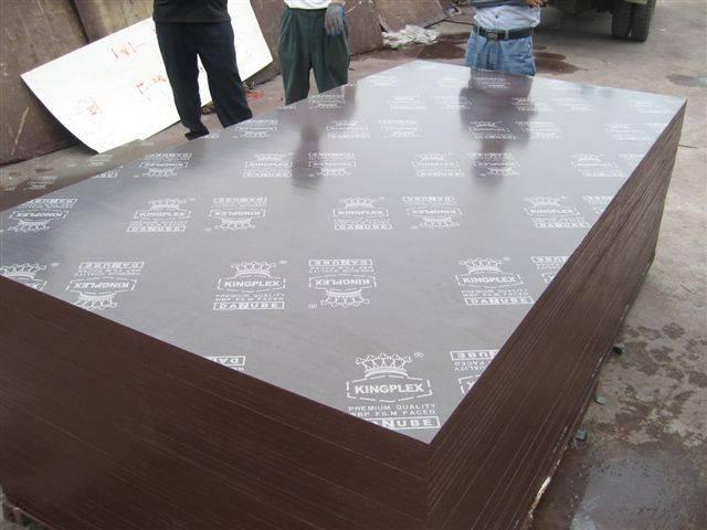 Brown film faced plywood, Kingplex brand