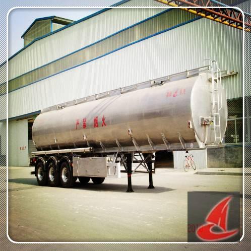 51cbm Fuel Aluminum tanker semi-trailer