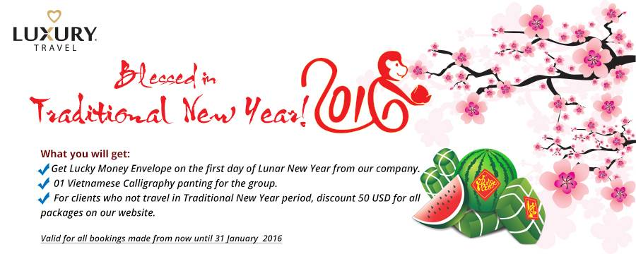 Luxury Holiday to Vietnam for TET new year 2016
