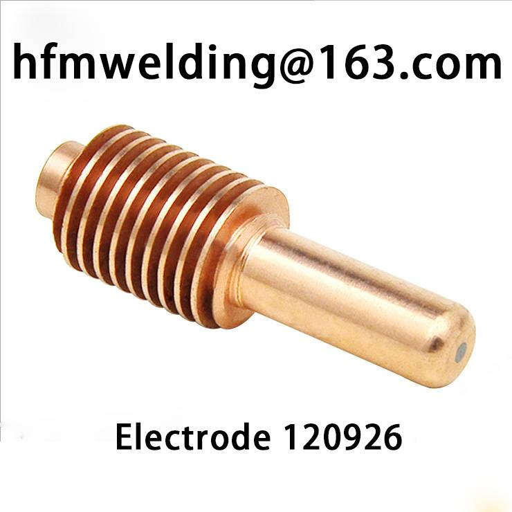 40-80A,Electrode 120926 compatible parts for HYPERTHERM POWER MAX 1250,plasma cuting welding