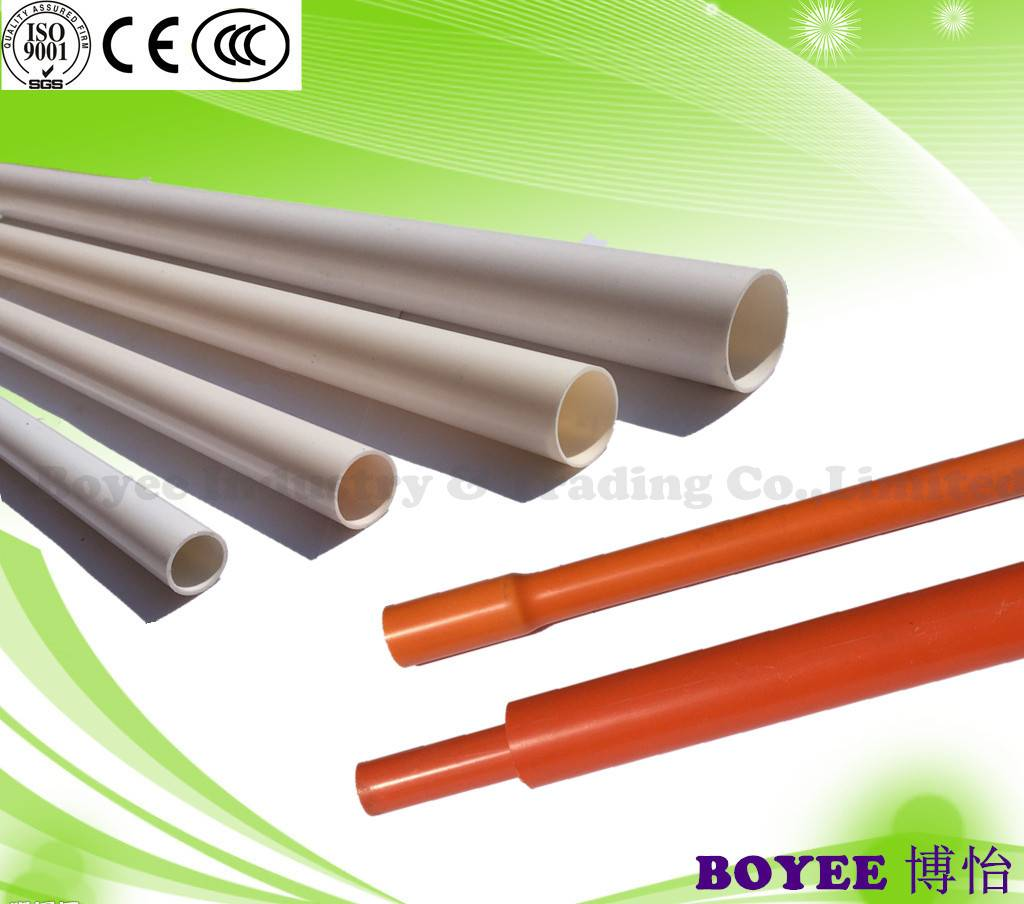 PVC conduit/ PVC pipe / PVC Electrical Conduit