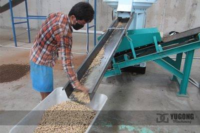 Wood Template Pellet Machine