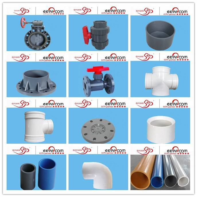 2015 hight quality pvc pipe fitting made in China with good price