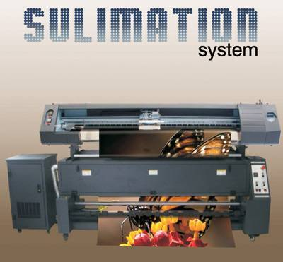 Textile printer with sublimation system