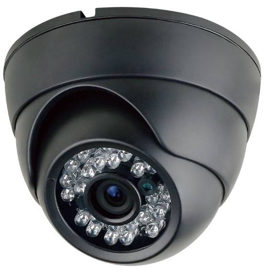 700TVL Sony CCD Effio-e Dome camera with IR-CUT, 3.6mm, 23pcs IR LED ,Cable control Optional