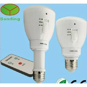 Multi-function rechargeable 3w emergency led bulb lamp