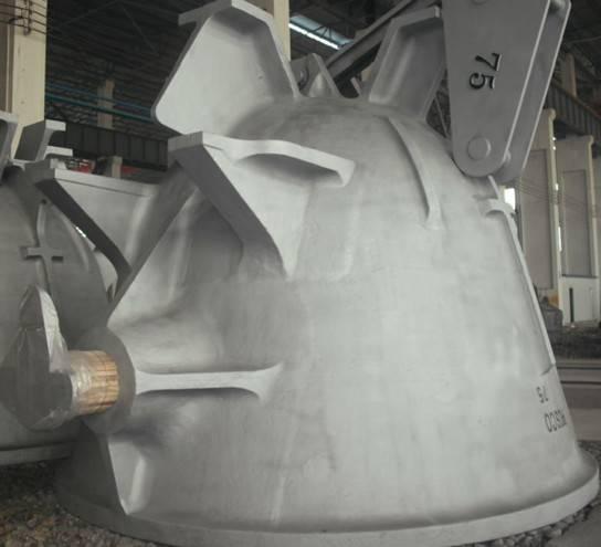 cast iron slag pot,slag ladle