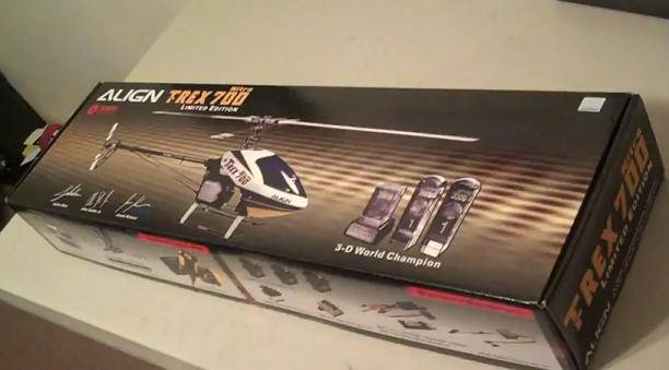 ALIGN T-REX 600 & 700 Nitro V2 Limited Edition RC Helicopters KX0160NPLB