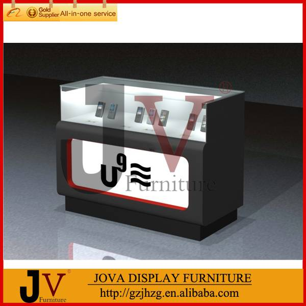 Fashion retail shop counter decoration mobile phone counter display