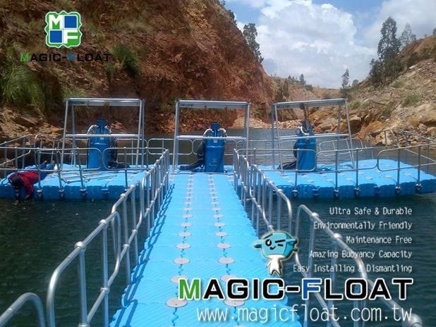 MF Pontoon-Pump Platform