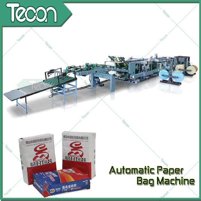 Paper Valve Sack Bottomer Machine for Cement, Chemicals and Food