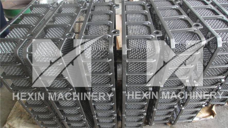investment casting furnace charging baskets