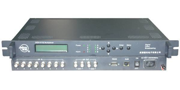 Digital Cable Tv system: TS Multiplexer 8inputs 4 outputs (manufacturer)