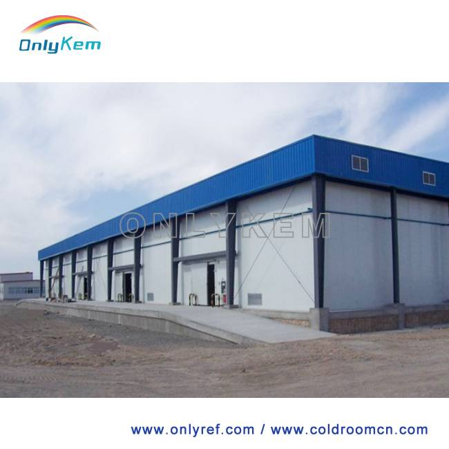 cold room, cold storage for fruit, vegetables, seafood