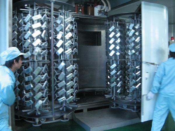 Dustfree Manual UV Painting Line Vacuum coating plant
