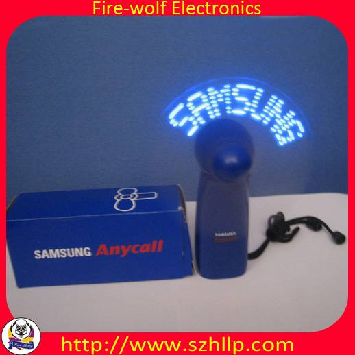 promotion gifts,LED message fan