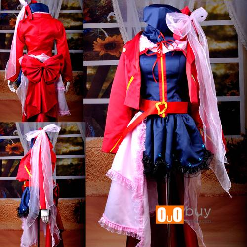 Anime Cosplay Costume Macross Frontier Sheryl Final Clothing Cosplay Costume