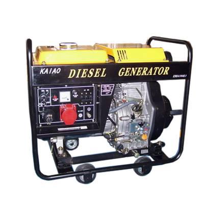 3.5KW Portable diesel generator KDE3500X CE  markde