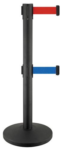 Queue pole,stanchion,hotel railing stand,crowd control stanchions, barrier system,retractable belt b