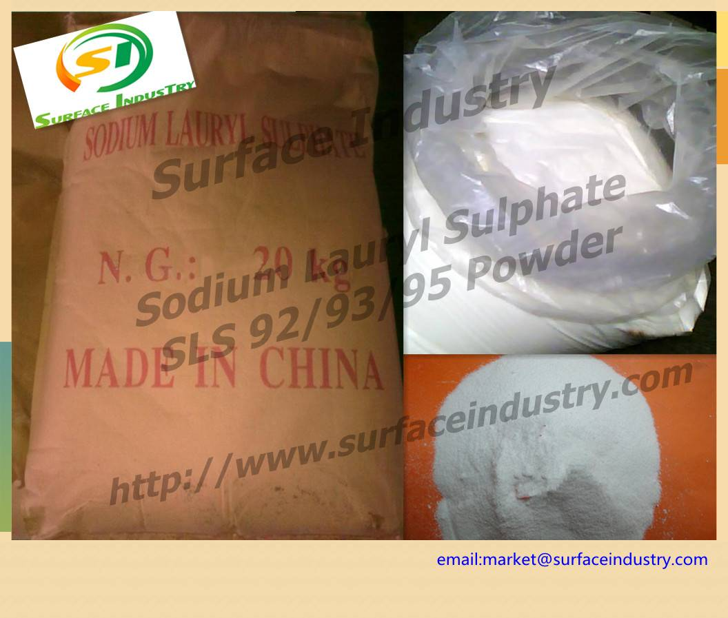 White Powder Sodium Lauryl Sulfate,SLS K12