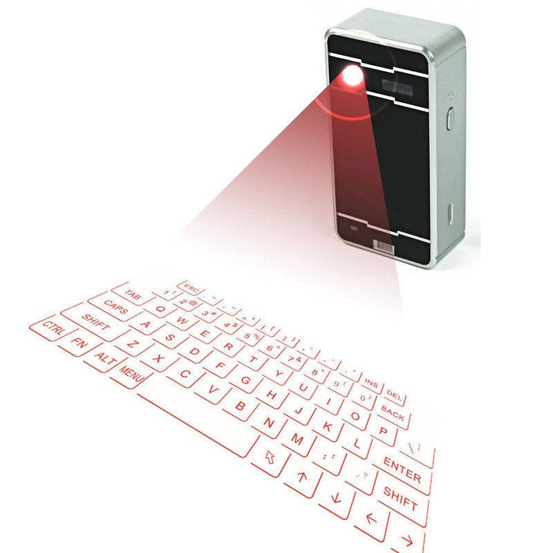 Wireless Mini Projection Virtual Bluetooth Laser Keyboard for Smart Phone Tablet PC Laptop
