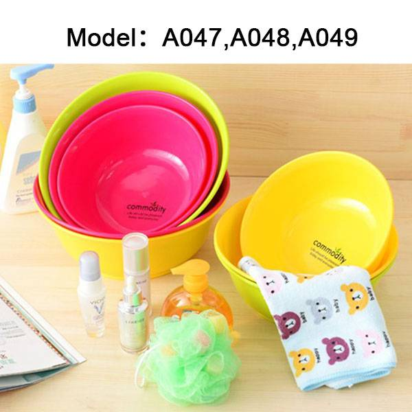 Wholesale multifunctional round baby plastic basin