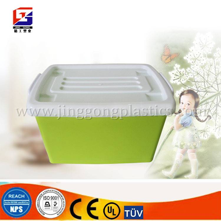 Wholesale cheap heavy duty multifunction plastic storage box with lock