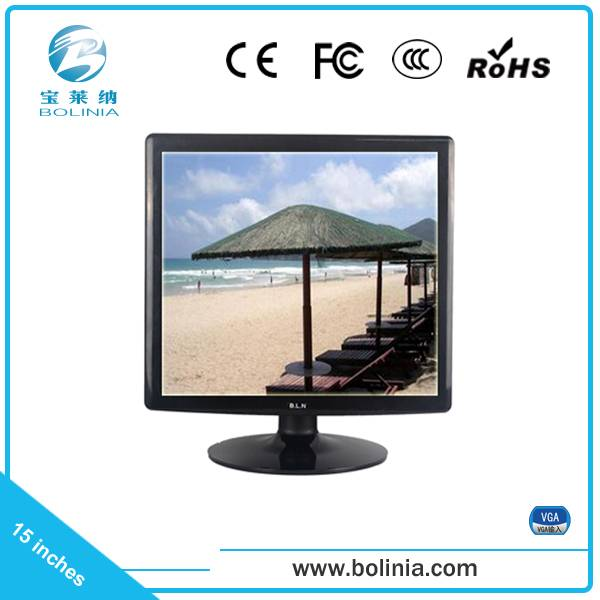 15 inch no widescreen pc monitor VGA interface