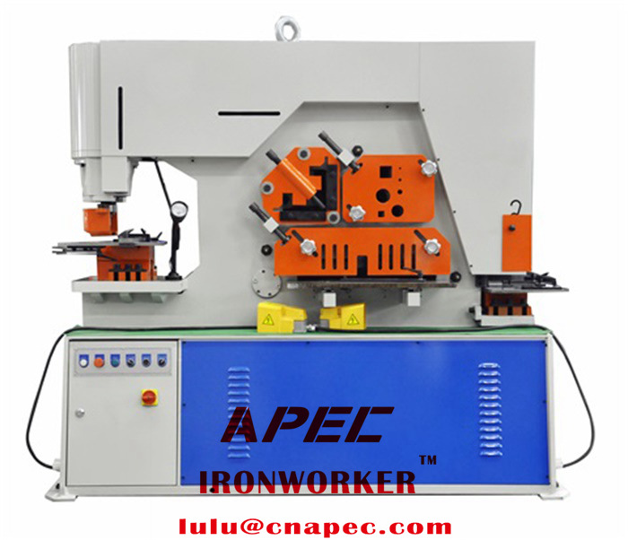 APEC Hydraulic ironworker machine AIW-160