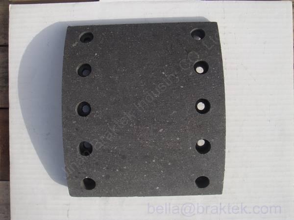 Asbestos,Non Asbestos, Semi-metal Brake Lining for Truck (WVA19032)  BPW 13T