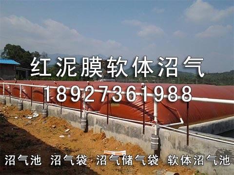 Red mud biogas digester