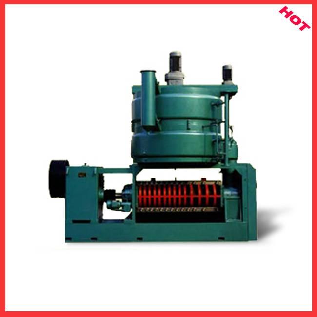 Oil press machine in machinery