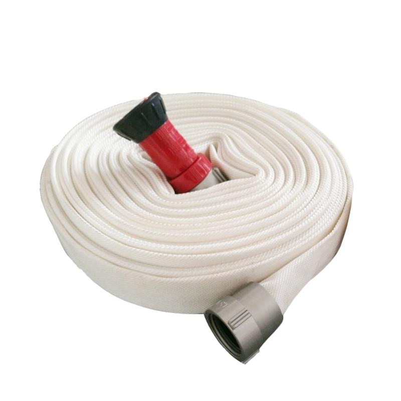 Manufacturer fire fighting fire hose rack hose set for sale