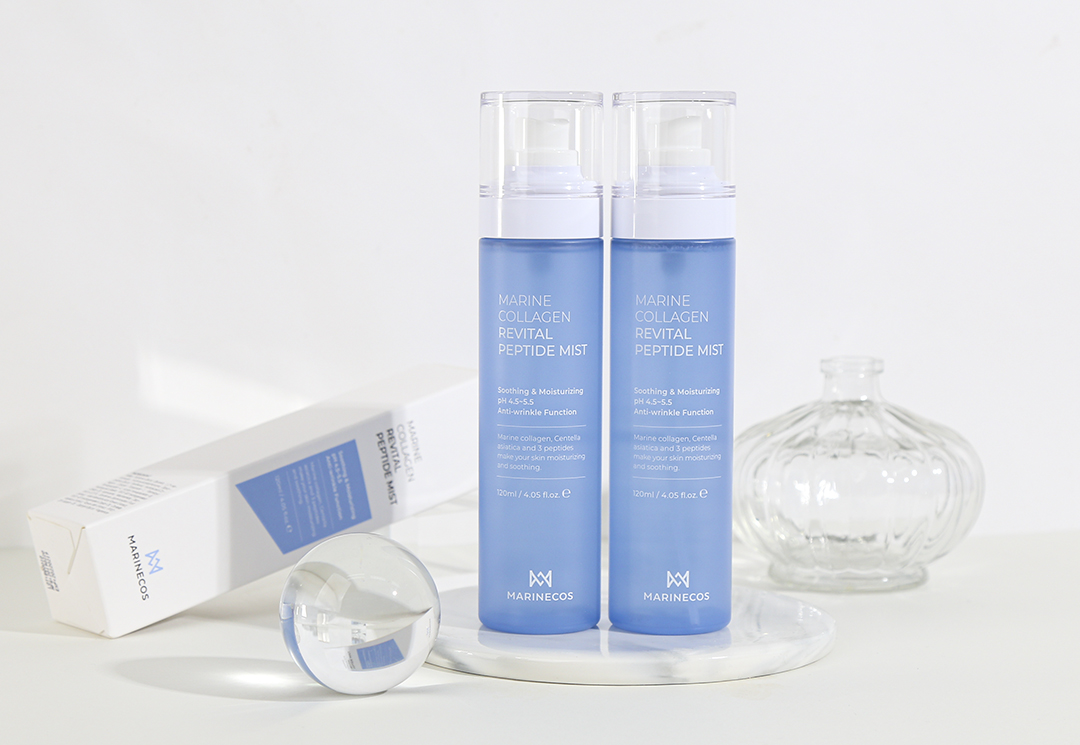 MARINECOS Revital Peptide Mist with french nozzle for face moisturizing